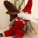 0-721 Christmas Santa pattern