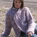 92-1 Cardigan in large stitch pattern