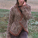 92-11 Cardigan with crocheted edge pattern