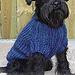 0-81 Dog Sweater pattern