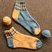 Sporty Shorty Stretchy Socks pattern
