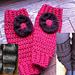 Chunky classy leg warmers pattern