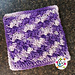 Grape Jam Washcloth pattern
