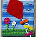 Fly a Kite Flag Decor pattern