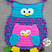 Owl flag and pillow pattern