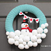 Snowball Wreath pattern