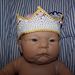 Fit for a King or Queen Crown Newborn pattern