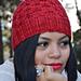 Vermello hat pattern