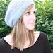 Easy Baggy Raspberry Stitch Hat pattern