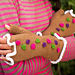 Candy Witch Fingerless Gloves pattern