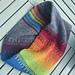 Melting Rainbow Cowl pattern