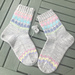 Beach Hut Socks pattern