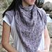 Purple dandelion pattern