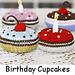 Birthday Cupcakes pattern