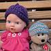 Twisted Stitch Baby Hat pattern