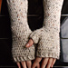 Fitted Fingerless Mitts pattern