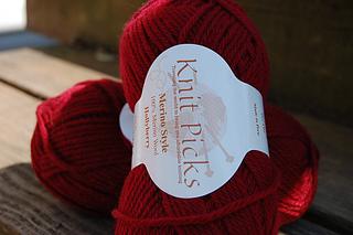 Knit Picks Merino Style in Hollyberry