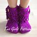 Furryluscious Women's Crochet Boot pattern