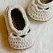 Baby Yoke Ballet Slippers pattern
