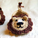 Baby Lion House Slippers pattern