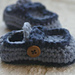 Baby Button Loafers pattern