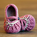 Too Cute Mary Janes with Gathering pattern