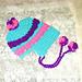 Heart  Bonnet Style Slouch pattern