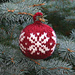 Two Strands Christmas Ball pattern
