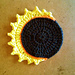 Solar Eclipse Coasters pattern