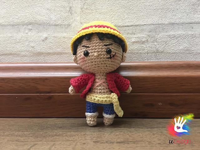 Tifaily Handmade - Monkey D. Luffy - Chinese-Knitting and Crochet ... | 480x640