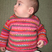 Seamless Raglan Sweater - child pattern