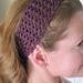 Summer Lace Headband pattern