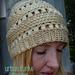 Crochet Slouchy Puff Beanie pattern