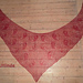 Yin Yang Lochmustertuch ( Lace Shawl) pattern