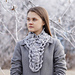 Elegant Rose Long Scarf pattern