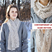 Contemporary Lace Scarf pattern