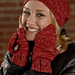2611 Cable Rib Hat and Flip Top Mitts pattern