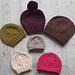 Basic Beginner Hats for the Family pattern
