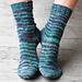 Under the Umbrella Socks pattern