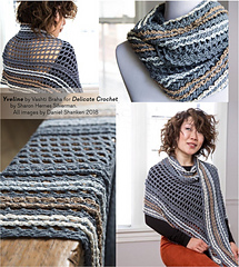 Photos from the new book Delicate Crochet by Sharon Silverman. (I created this grouping.)