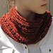 Rachelle Chunky Lace Cowl Scarf pattern