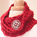 Squeeee-easy crochet cowl pattern