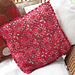 Fresh Red Crochet Cushion pattern