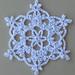 2018 snowflake pattern