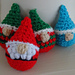 Santa and his Helpers pattern