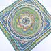 Snowflower blanket pattern