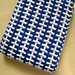 Hash Marks Scarf pattern