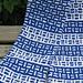 Blitz Scarf pattern