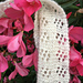 Flowers in Lace Cashmere Scarf pattern