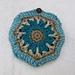 Little octagon flower purse pattern